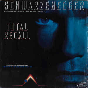 Jerry Goldsmith - Total Recall (Original Motion Picture Soundtrack) - Album Cover