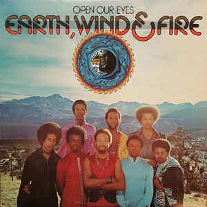 Earth, Wind & Fire - Open Our Eyes - Album Cover