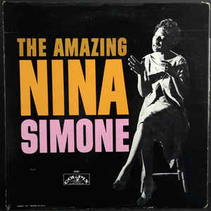 Nina Simone - The Amazing Nina Simone - Album Cover