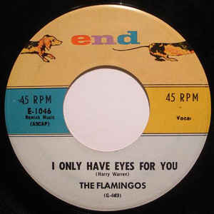 The Flamingos - I Only Have Eyes For You - Album Cover