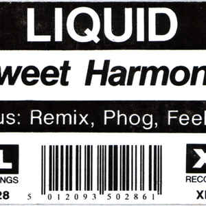 Liquid - Sweet Harmony - Album Cover