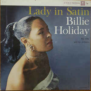 Billie Holiday - Lady In Satin - Album Cover