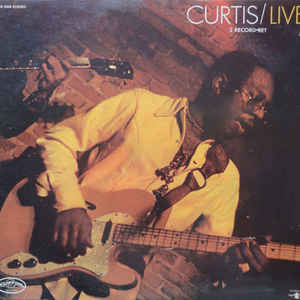 Curtis Mayfield - Curtis / Live! - Album Cover