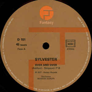 Sylvester - Over And Over / Down, Down, Down - Album Cover