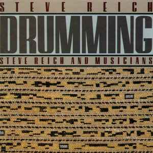 Steve Reich - Drumming - Album Cover