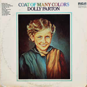 Dolly Parton - Coat Of Many Colors - Album Cover