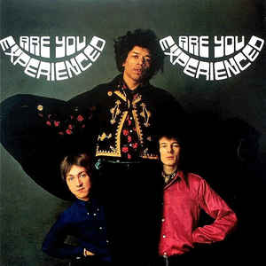 The Jimi Hendrix Experience - Are You Experienced - Album Cover