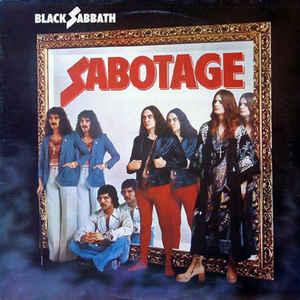 Black Sabbath - Sabotage - Album Cover