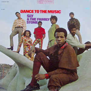 Sly & The Family Stone - Dance To The Music - Album Cover