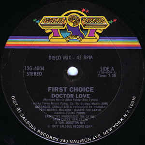 First Choice - Doctor Love - VinylWorld