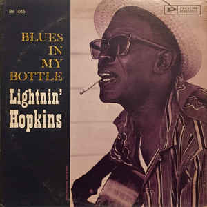 Lightnin' Hopkins - Blues In My Bottle - Album Cover