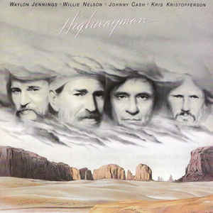 Waylon Jennings - Highwayman - Album Cover