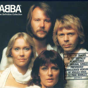 ABBA - The Definitive Collection - Album Cover