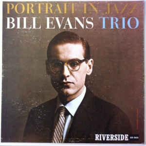 The Bill Evans Trio - Portrait In Jazz - Album Cover