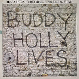 Buddy Holly - 20 Golden Greats - Album Cover