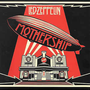 Led Zeppelin - Mothership - Album Cover