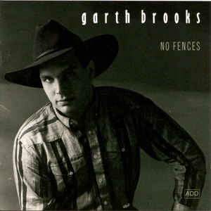 Garth Brooks - No Fences - Album Cover
