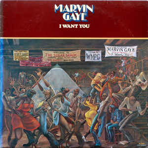 Marvin Gaye - I Want You - Album Cover