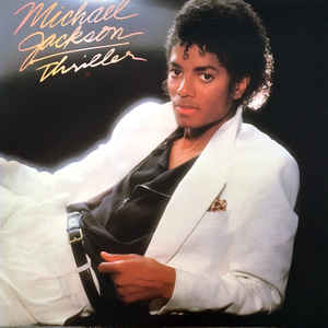 Michael Jackson - Thriller - Album Cover