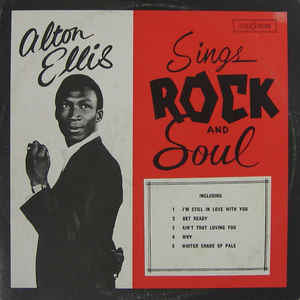 Alton Ellis - Sings Rock And Soul - Album Cover