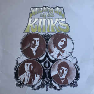 The Kinks - Something Else By The Kinks - Album Cover
