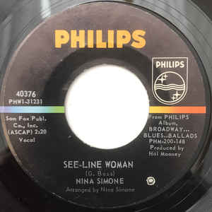Nina Simone - See-Line Woman - Album Cover