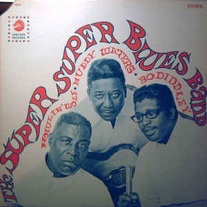 Howlin' Wolf - The Super Super Blues Band - Album Cover
