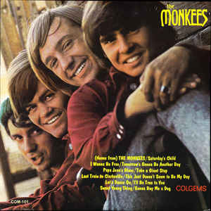 The Monkees - The Monkees - Album Cover