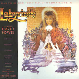 David Bowie - Labyrinth (From The Original Soundtrack Of The Jim Henson Film) - Album Cover
