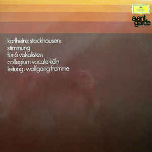 Karlheinz Stockhausen - Stimmung - Album Cover