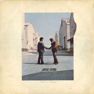 Pink Floyd - Wish You Were Here - Album Cover