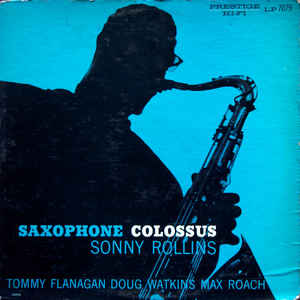 Saxophone Colossus - Album Cover - VinylWorld