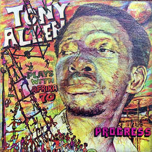 Tony Allen - Progress - Album Cover
