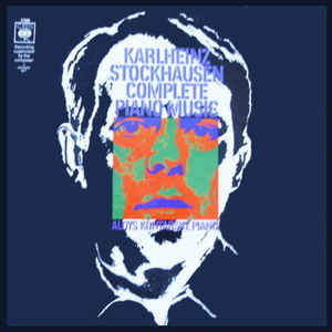 Karlheinz Stockhausen - Complete Piano Music - Album Cover