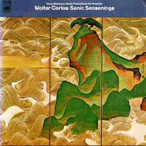 Walter Carlos - Sonic Seasonings - Album Cover