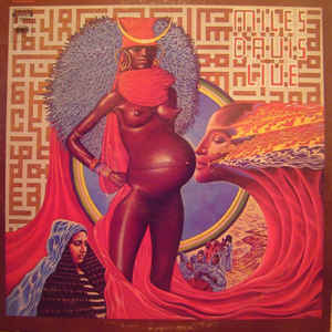 Miles Davis - Live-Evil - Album Cover