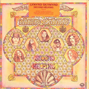 Lynyrd Skynyrd - Second Helping - Album Cover