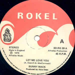 Bunny Mack - Let Me Love You / Love You Forever - Album Cover