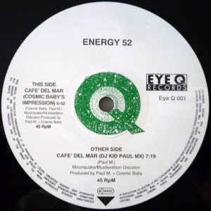 Energy 52 - Café Del Mar - VinylWorld