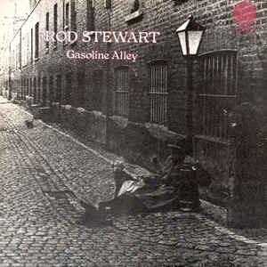 Rod Stewart - Gasoline Alley - Album Cover