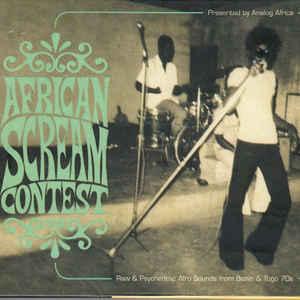 Various - African Scream Contest - Album Cover