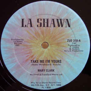 Mary Clark - Take Me I'm Yours - Album Cover