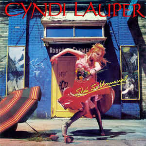 Cyndi Lauper - She's So Unusual - Album Cover