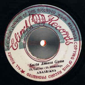 The Abyssinians - Satta Amasa Gona - Album Cover