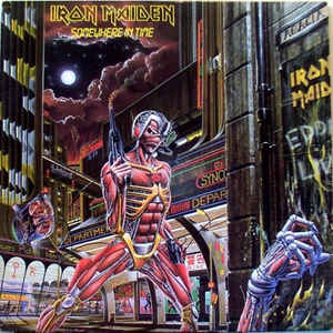 Iron Maiden - Somewhere In Time - Album Cover