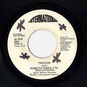 Roberto Roena Y Su Apollo Sound - Traicion / Que Se Sepa - VinylWorld