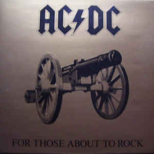 AC/DC - For Those About To Rock (We Salute You) - Album Cover