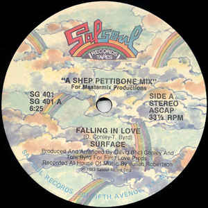 Surface - Falling In Love - Album Cover