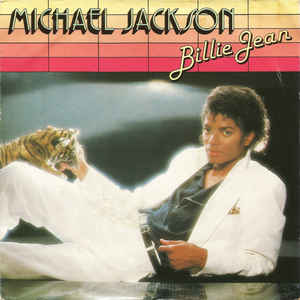 Michael Jackson - Billie Jean - Album Cover