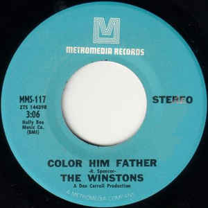 The Winstons - Color Him Father / Amen, Brother - Album Cover